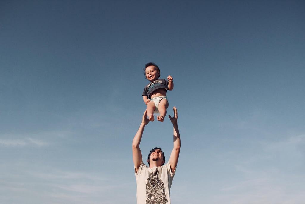 Tosara Pharma Father and Baby