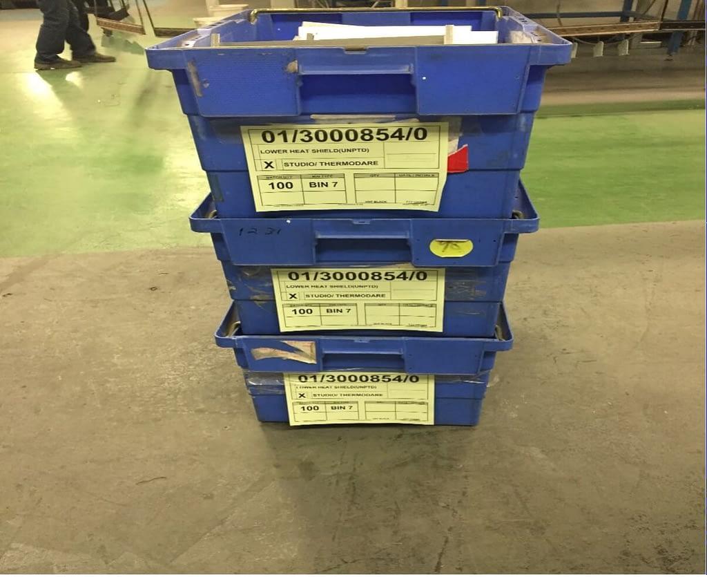 Glen Dimplex Assembly Line Storage