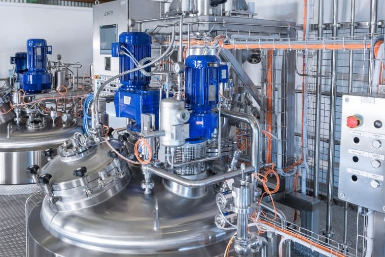 Alexion Pharmaceuticals machinery