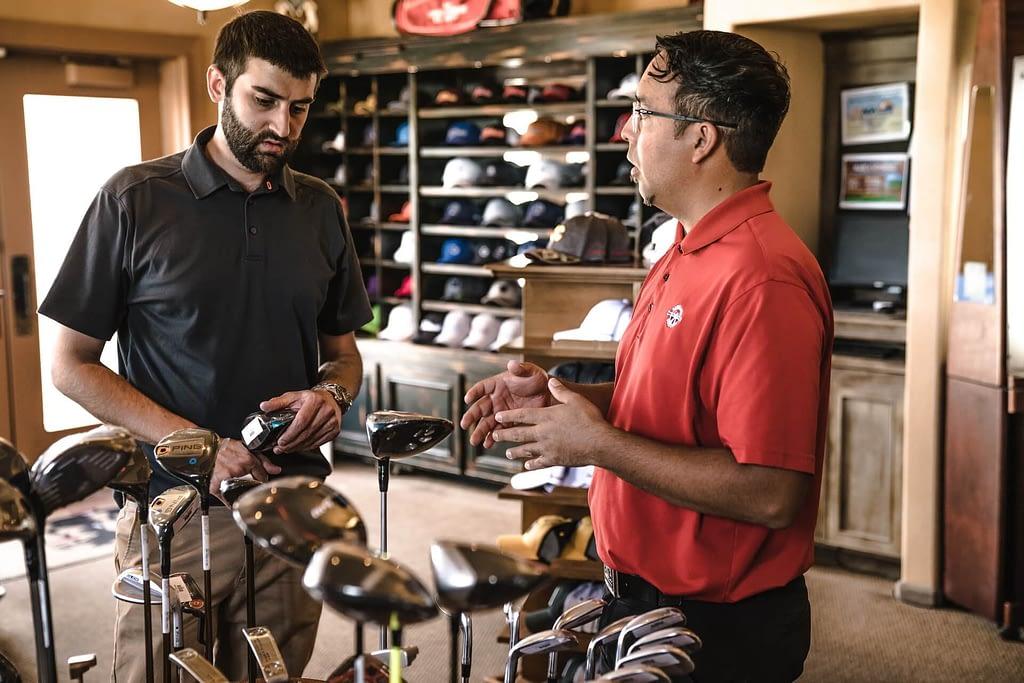 Kanban Pull System 2 golfers