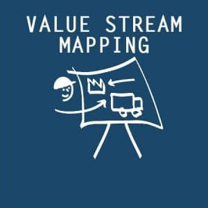 Value Stream Mapping Icon